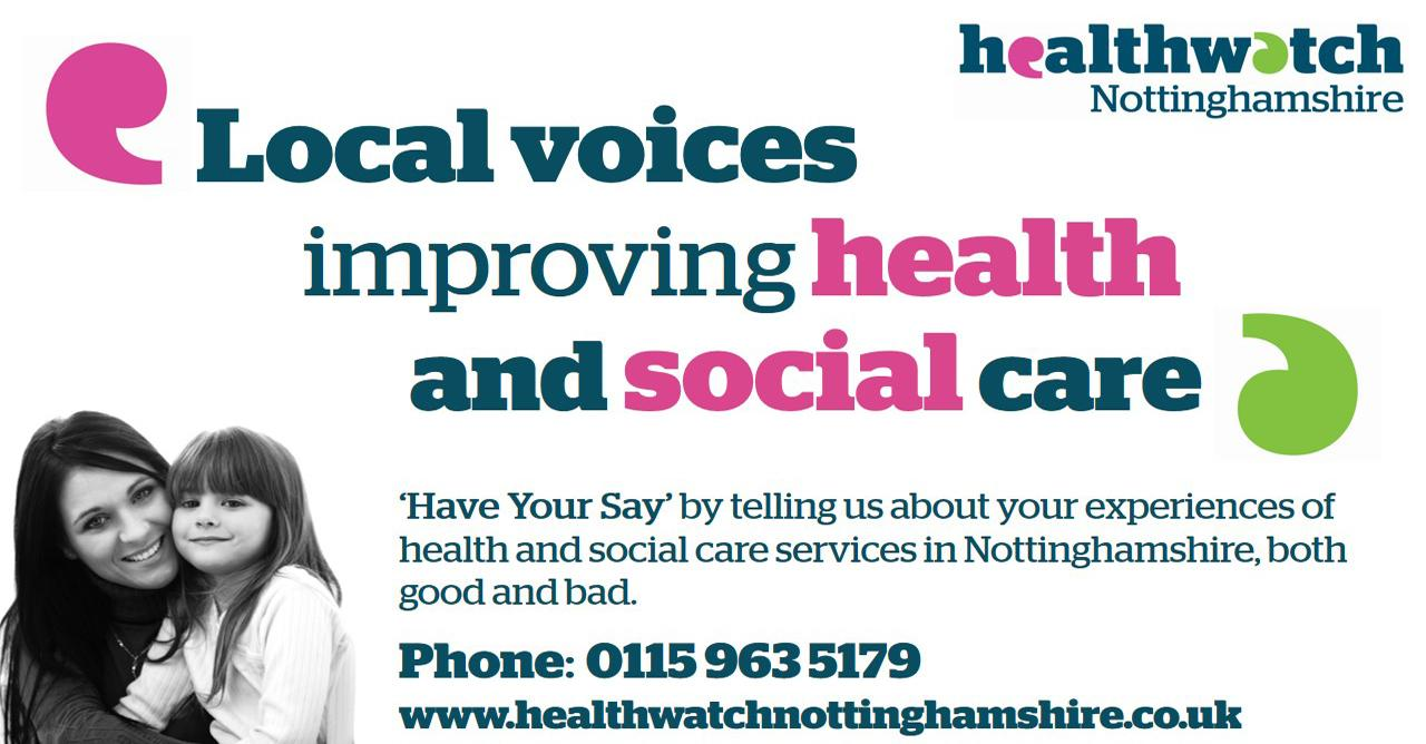Healthwatch Nottinghamshire